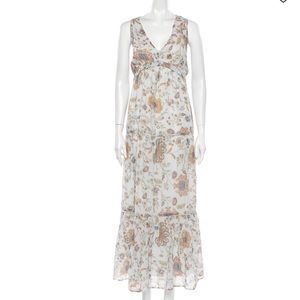 🆕Rachel Zoe sleeveless floral print maxi dress